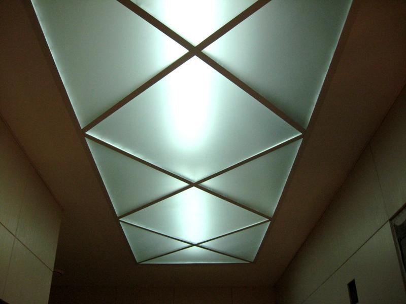 Светопрозрачный натяжной потолок своими руками видео